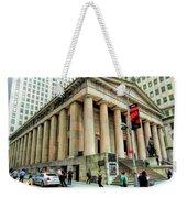 New York City Federal Hall Weekender Tote Bag