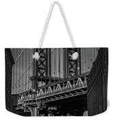 New York City - Manhattan Bridge Weekender Tote Bag