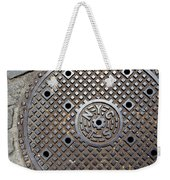 New York City Manhole Cover Weekender Tote Bag
