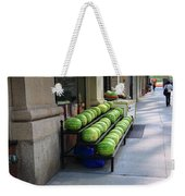 New York City Market Weekender Tote Bag
