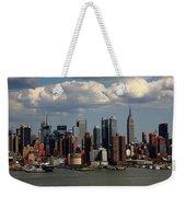 New York City Skyline 4 Weekender Tote Bag