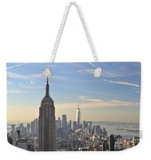 New York City Skyline Weekender Tote Bag