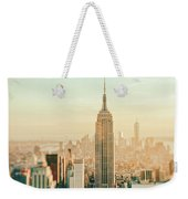 New York City - Skyline Dream Weekender Tote Bag