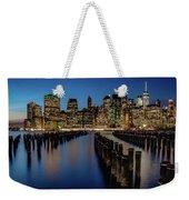 New York City - Skyline Weekender Tote Bag