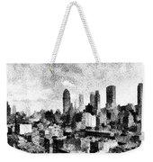 New York City Skyline Sketch Weekender Tote Bag