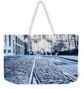 New York City Skyline With Brooklyn Bridge Weekender Tote Bag