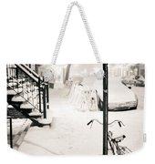 New York City - Snow Weekender Tote Bag by Vivienne Gucwa