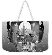 New York City Sound Weekender Tote Bag