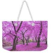 New York City Springtime Weekender Tote Bag