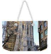New York City St. Patrick's Cathedral Weekender Tote Bag