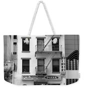 New York City Storefront Bw5 Weekender Tote Bag