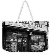 New York City Storefront Bw6 Weekender Tote Bag