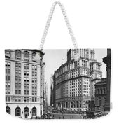 New York City Street Scene Weekender Tote Bag