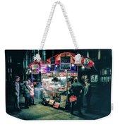 New York City Street Vendor Weekender Tote Bag
