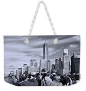 New York City Tourists Weekender Tote Bag