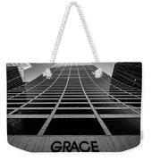 New York City - W. R. Grace Building Weekender Tote Bag