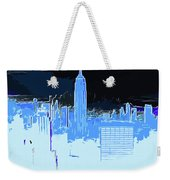 New York City X Ray Weekender Tote Bag