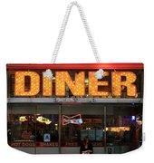 New York Diner 1 Weekender Tote Bag