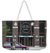 New York District Council Of Carpenters Weekender Tote Bag