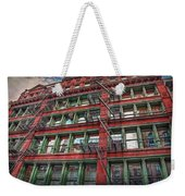 New York Fire Escapes Weekender Tote Bag