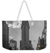 New York - Flatiron Building And Yellow Cabs - 2 Weekender Tote Bag
