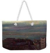 New York Harbor Weekender Tote Bag