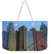 New York Hotel Weekender Tote Bag