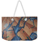 New York In Mosaic Weekender Tote Bag