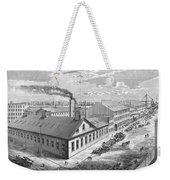 New York: Iron Works, 1876 Weekender Tote Bag