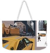 New York Jazz I Weekender Tote Bag