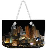 New York Las Vegas Weekender Tote Bag