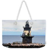 New York Lighthouse-3 Weekender Tote Bag