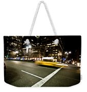 New York Minute Weekender Tote Bag