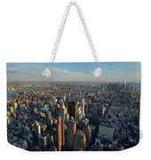 New York, New York 27 Weekender Tote Bag