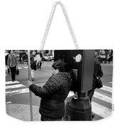 New York, New York 3 Weekender Tote Bag