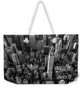 New York, New York 5 Weekender Tote Bag