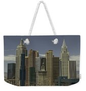 New York New York View 1 Weekender Tote Bag