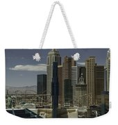 New York New York View 2 Weekender Tote Bag