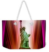 New York Nyc - Statue Of Liberty 2 Weekender Tote Bag