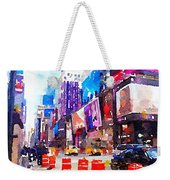 New York Pulse Weekender Tote Bag