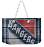 New York Rangers Barn Door Weekender Tote Bag