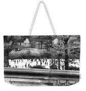 New York Skating Weekender Tote Bag