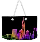 New York Skyline Weekender Tote Bag by Aaron Berg