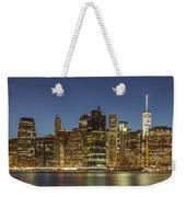 New York Skyline Panorama - 2 Weekender Tote Bag