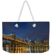 New York Skyline - Queensboro Bridge - 2 Weekender Tote Bag