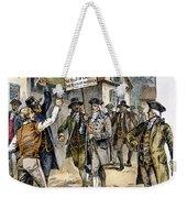 New York: Stamp Act , 1765 Weekender Tote Bag