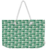 New York Street Sign Times Square  Weekender Tote Bag