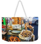 New York Street Vendor Weekender Tote Bag