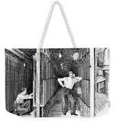 New York: Telephone, 1891 Weekender Tote Bag