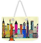 New York - The Big City Weekender Tote Bag